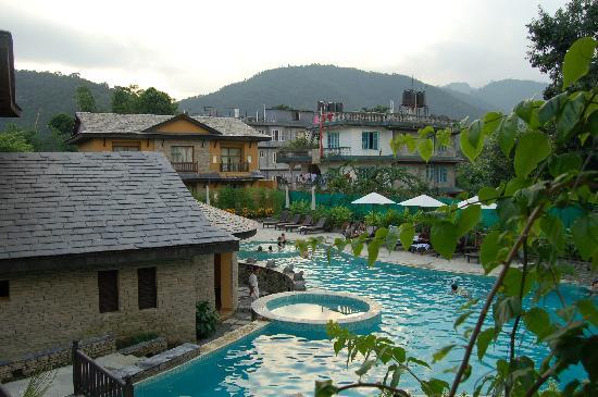 Temple Tree Resort & Spa : vista desde la habitacion 8