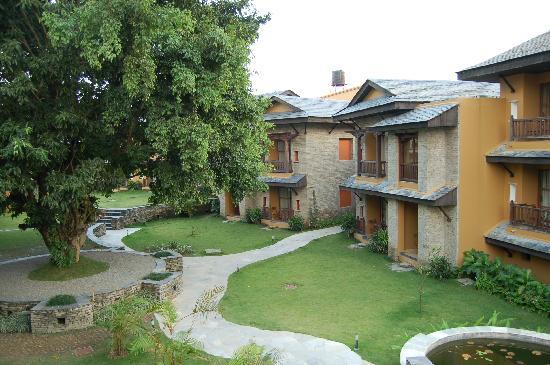 Temple Tree Resort & Spa: vista desde la habitacion 8