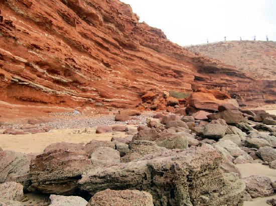 Пляж Легзира: Colori