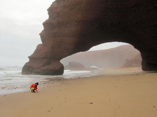 Legzira Beach: L'Arco sulla spiaggia