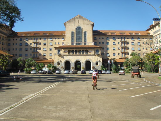 Araxá, MG: Vista do Hotel