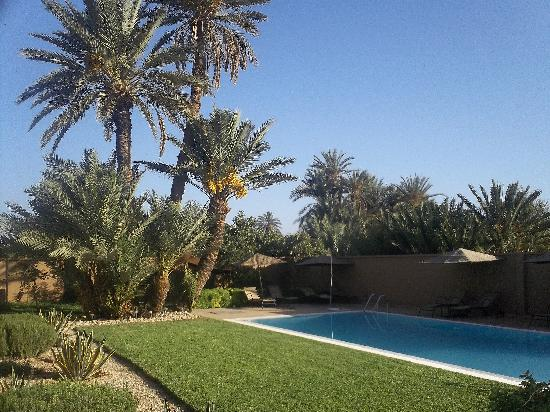 Dar Chamaa: By the pool