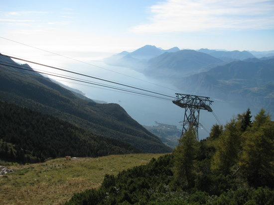 Monte Baldo: Over Lake Garda