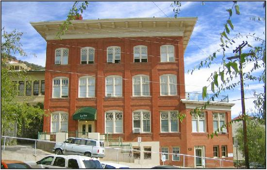 Gym Club Suites: Delightful Suites in the Heart of Old Bisbee