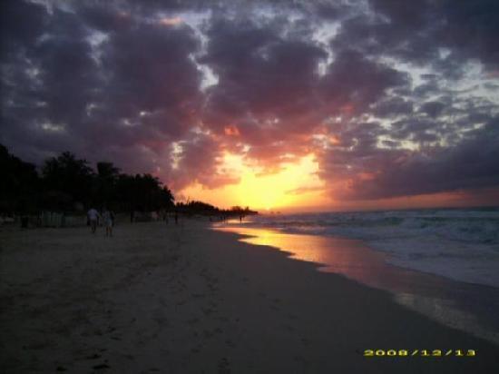 Varadero, Cuba: Coucher de soleil