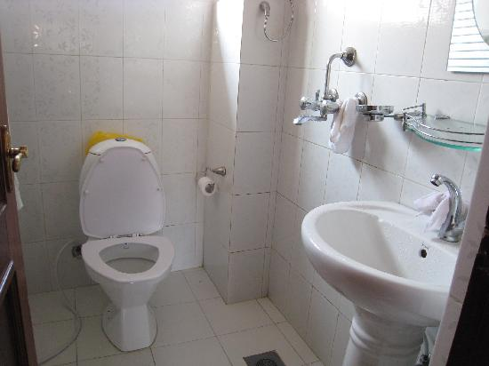 Simple bathroom - Picture of Hotel Family Home, Kathmandu ...