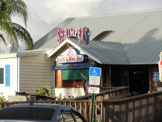 Stuart, Floride : front of the restuarant