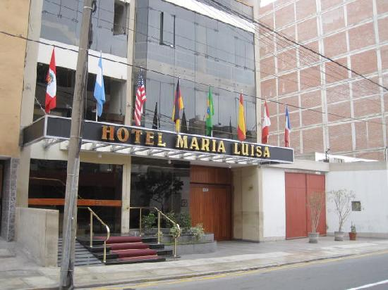 Maria Luisa Hotel: Front of Hotel