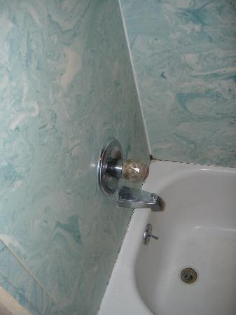 Rodeway Inn: filthy bathroom