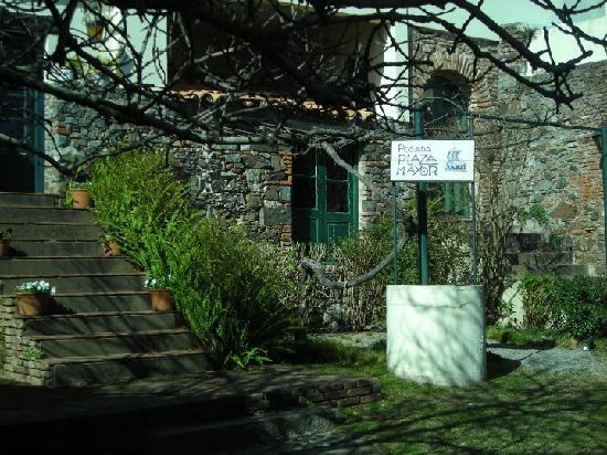 Posada Plaza Mayor : Parte trasera de la posada (frente al rio)