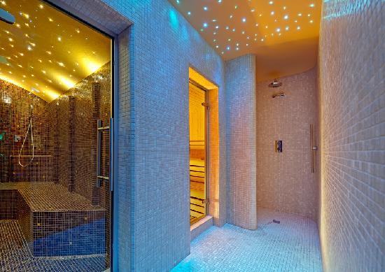 Hotel Aurora Terme: Spa Althea bagno turco sauna