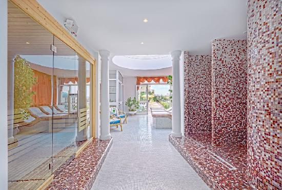 Hotel Aurora Terme: Spa Gardenia 4°piano solarium
