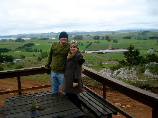 Punta Ballena, أوروجواي: Otavio & Mariana at Alto de la Ballena