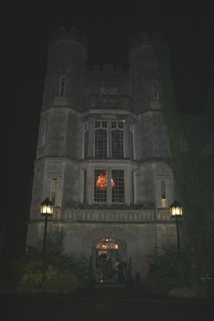 Adare Manor: Entry at night