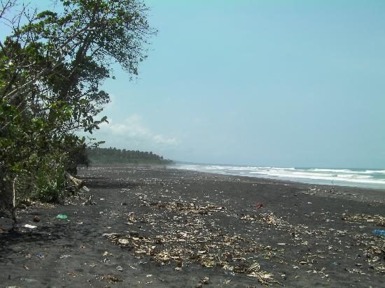 Dewi Sartika Hotel : local beach 10 mins walk