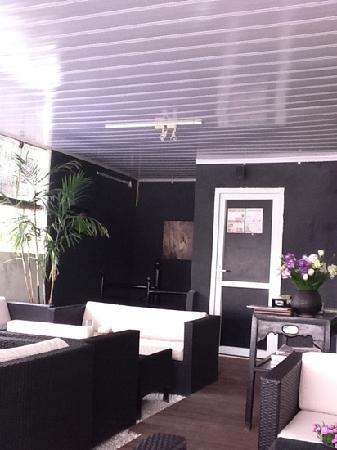 OCHAO Tea House : 二階の席です。
