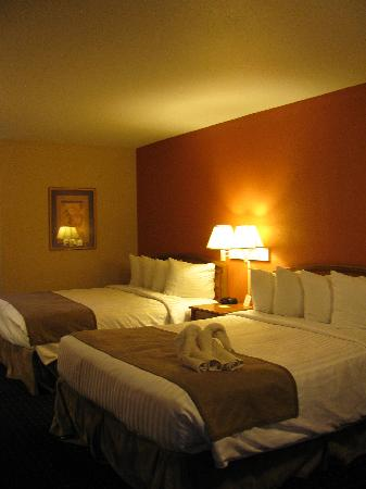 Barstow, Californien: Two queen size beds
