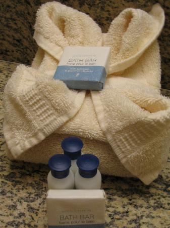 Best Western Desert Villa Inn: Towel and lotions etc.