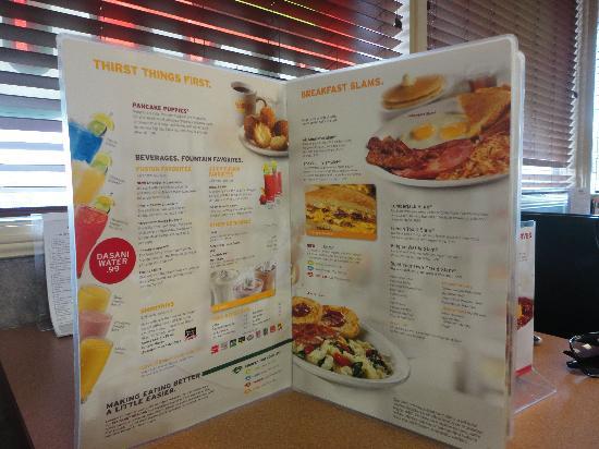 Denny's : Menú de desayunos