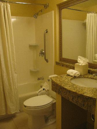 Fairfield Inn Sacramento Cal Expo: Bathroom