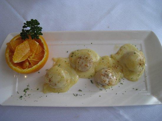 Tidal Restaurant : 好吃的干貝前菜