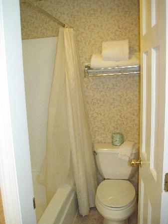 King's Port Inn: The bathroom had all the basics.