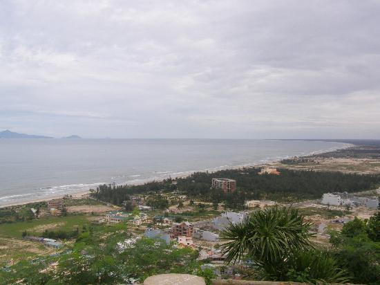 view 'from heaven' of china beach - Picture of The Marble ...