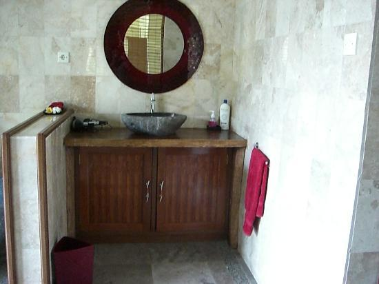 Suara Air Luxury Villa Ubud: The sink