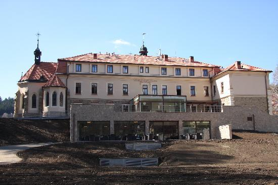 Wellness & Spa Hotel Augustiniansky dum: back side