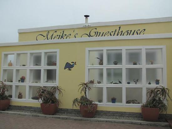 Meike's Guesthouse: so sieht der Eingang aus