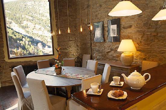 Cal Bou: dinning room