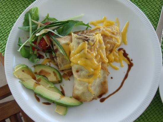 فرانسكرال بد آند بريكفاست: Frühstücks-Variation