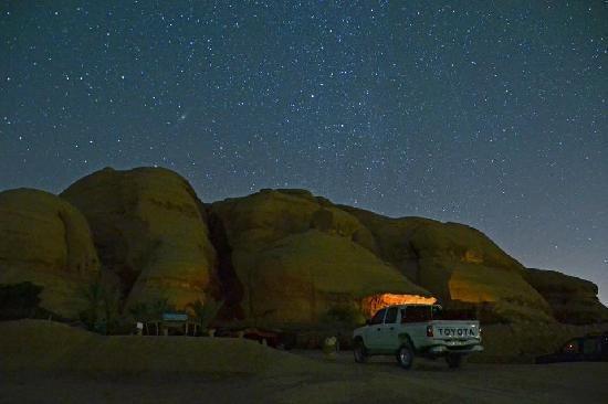Captain's Desert Camp : The Camp prima dell'alba