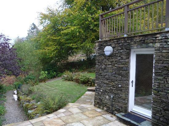 The Cottage in the Wood: The Garden Room entrance