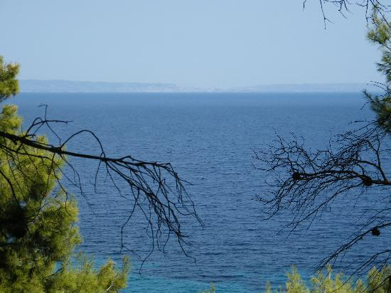 Nostos Hotel: View out to Sea