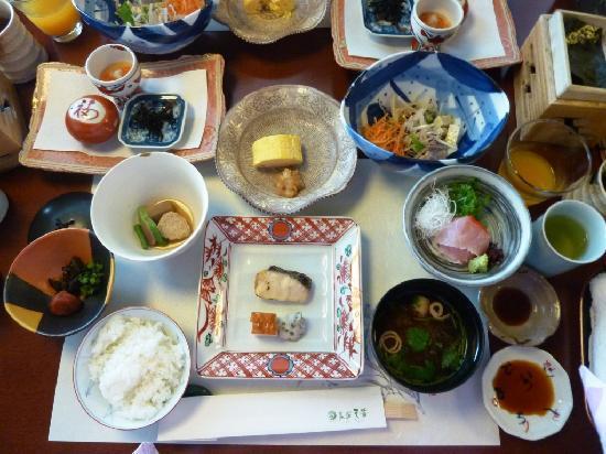 Gora Tensui : 朝食