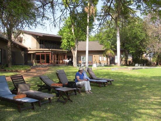 Mjejane River Lodge: The lodge