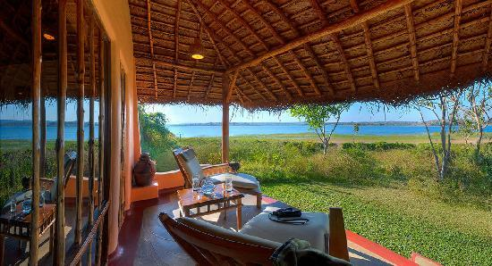 Orange County Resorts Kabini: Pool Hut - Sitout