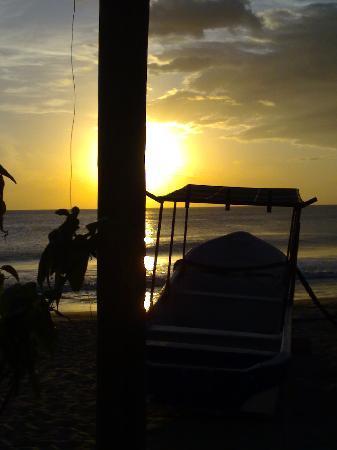 Cabanas de Gigante : sunset