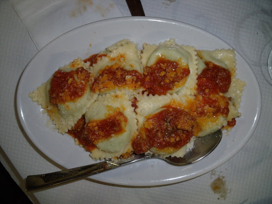 Agriturismo La grotta del tesoro: Pasta in Sardegna...