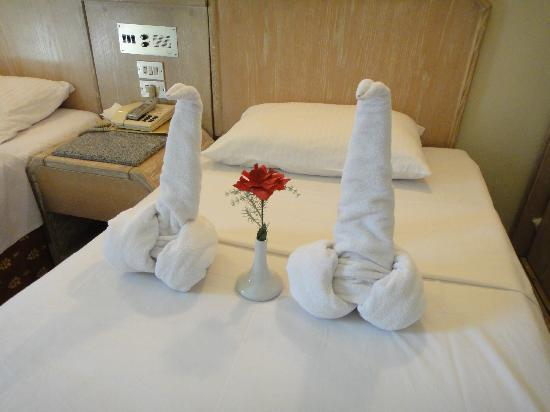 Emilio Hotel: 清掃後の客室