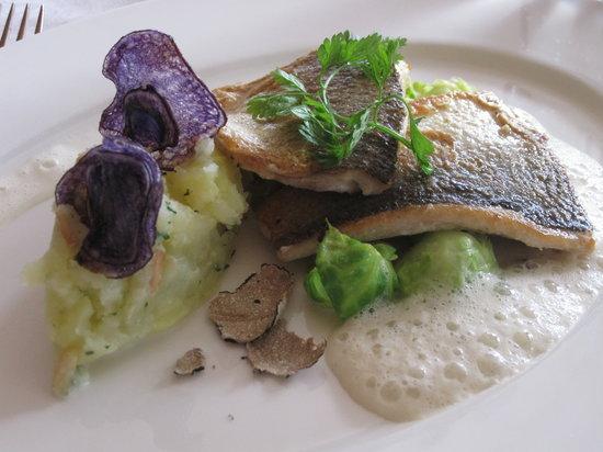 SCALA RESTAURANT - Art Deco Hotel Montana: Main course of fish