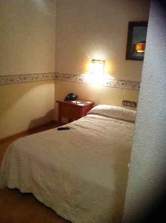 Hotel Zentral Parque: Mi cama