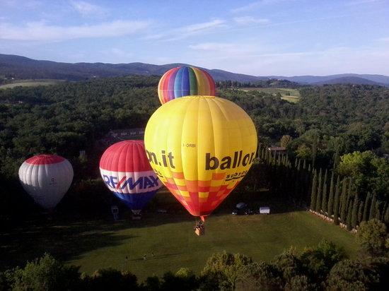 Balloon Team Italia : Nella natura