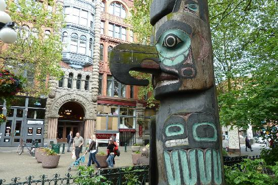 Pioneer Square: Totempfahl