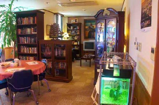 Seamen's Club Naha : Reading Room
