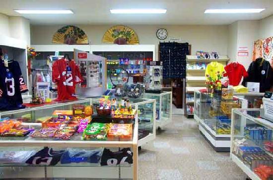 Seamen's Club Naha : Gift Shop and Cashier