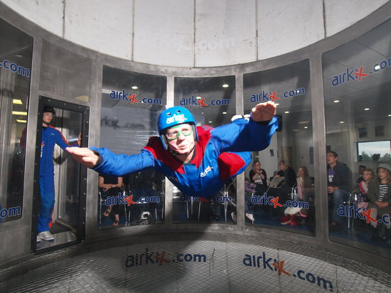 Airkix Indoor Skydiving Manchester Trafford England