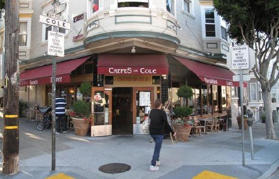 Crepes on Cole: In the Haight Ashby area