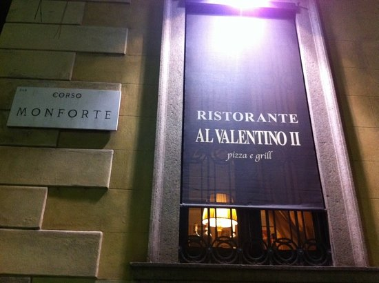 Valentino Vintage Restaurant: look for Marco!